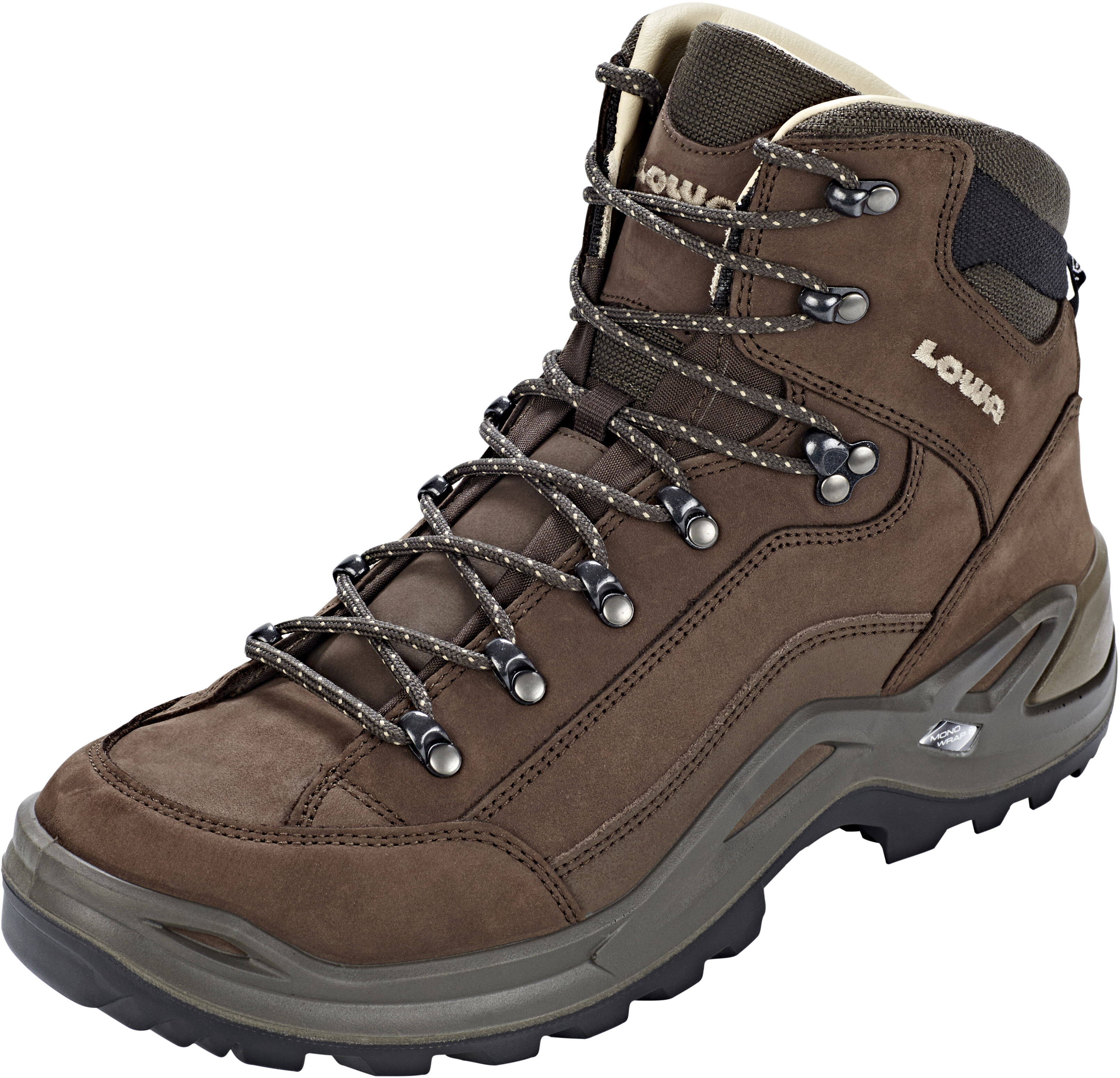 7492ddb0a9c Lowa Renegade LL - Chaussures Homme - marron sur CAMPZ !